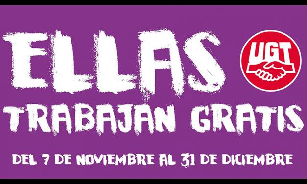 Desde el 7 de noviembre, las mujeres españolas trabajan gratis