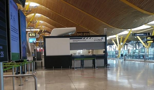 Huelga en Groundforce en el Aeropuerto Adolfo Suárez Madrid Barajas