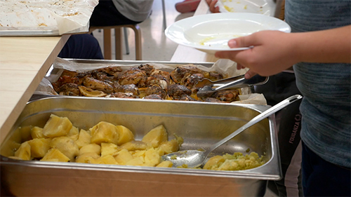 UGT denuncia la situación de las plantillas de catering tras el cierre, por el temporal FILOMENA, de los centros escolares en Madrid