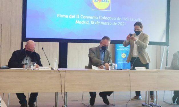 UGT, CCOO y Lidl firman un convenio que mejora salarios y amplía derechos