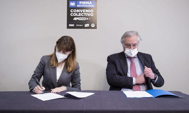 ANGED y los sindicatos reafirman el compromiso del sector con la actividad productiva de España