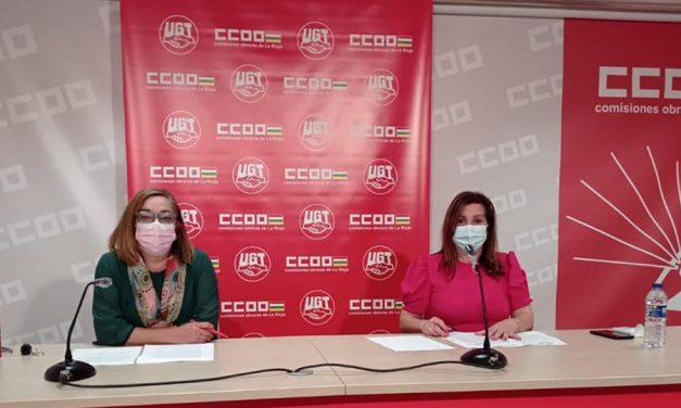 UGT y CCOO exigen comenzar a negociar los convenios colectivos del comercio en La Rioja